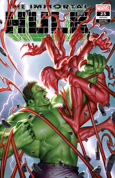 IMMORTAL HULK #25 Junggeon Yoon Absolute Carnage Variant (10/23/2019) Marvel