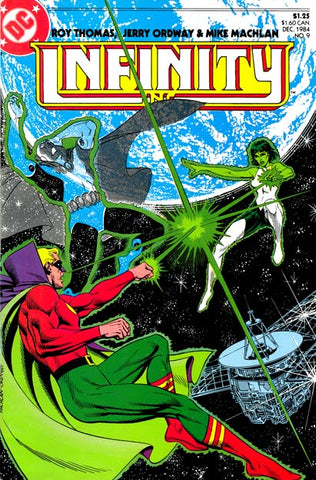 Infinity Inc 9 DC 1984 Green Lanterns
