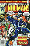Inhumans 9 Marvel 1976 Blackbolt Medusa