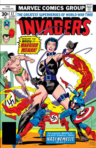 Invaders 17 Marvel 1977 Warrior Woman