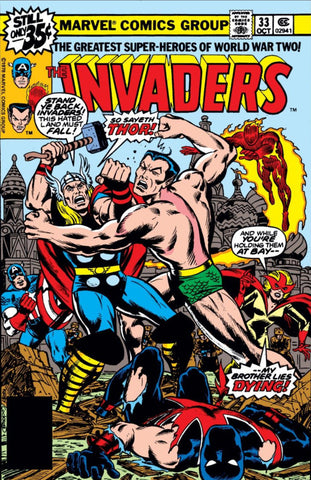Invaders 33 Marvel 1977 Thor Sub-Mariner