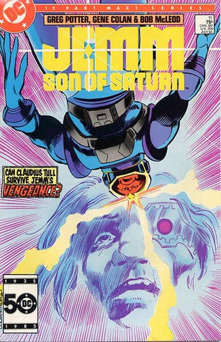 Jemm Son of Saturn 11 DC 1985 Mini Series