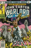 John Carter Warlord of Mars 15 Marvel 1977 Dejah Thoris