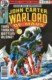 John Carter Warlord of Mars 18 Marvel 1977 Dejah Thoris
