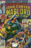 John Carter Warlord of Mars 9 Marvel 1977 Dejah Thoris