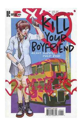 Kill Your Boyfriend 1 GN Vertigo 1995 NM Grant Morrison