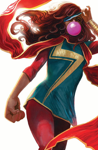 Ms. Marvel 31 Legacy 50 Stephanie Hans Virgin Variant LTD 500 (06/27/2018)