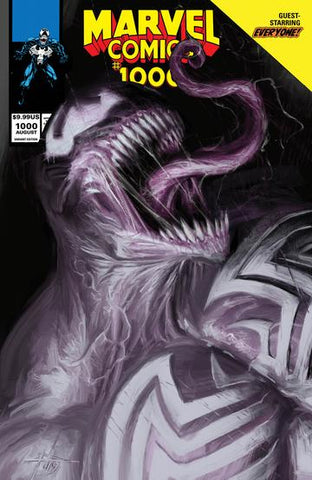 MARVEL Comics #1000 Gabriele Dell'Otto Venom Trade Variant (08/28/2019) MARVEL