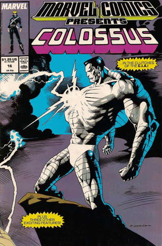 Marvel Comics Presents 16 1988 Colossus Black Panther