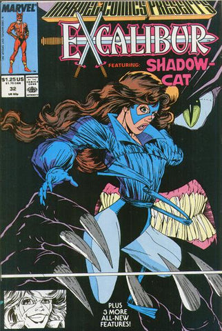Marvel Comics Presents 32 1989 Shadowcat Black Panther