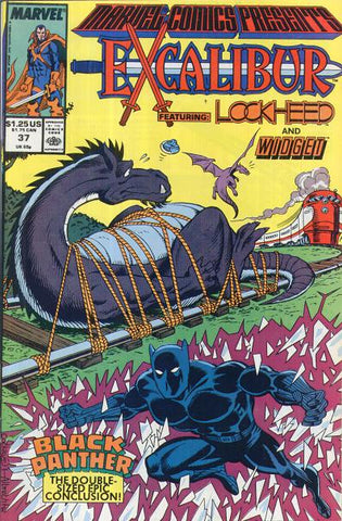 Marvel Comics Presents 37 1989 LockHeed Black Panther