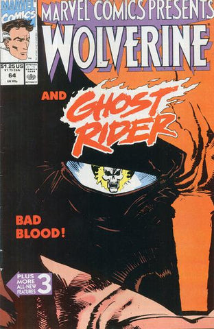 Marvel Comics Presents 64 1990 Wolverine Ghost Rider