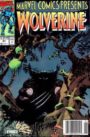 Wolverine 91 Marvel Comics Presents 1991