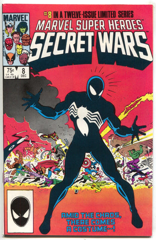 Marvel Super Heroes Secret Wars 8 1984 NM 1st Black Costume Venom Symbiote