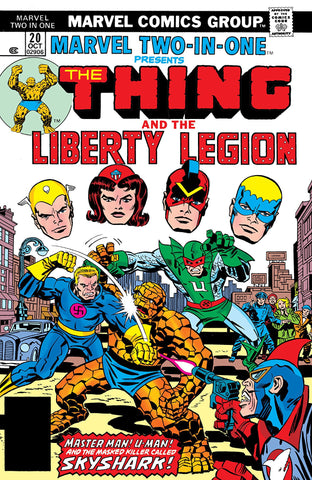 Marvel Two-In-One 20 Thing Liberty Legion