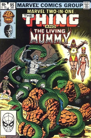 Marvel Two-In-One 95 Thing Living Mummy