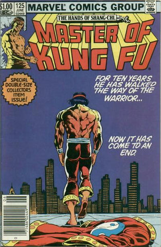 Shang-Chi Master of Kung Fu 125 Marvel 1983 Last Issue