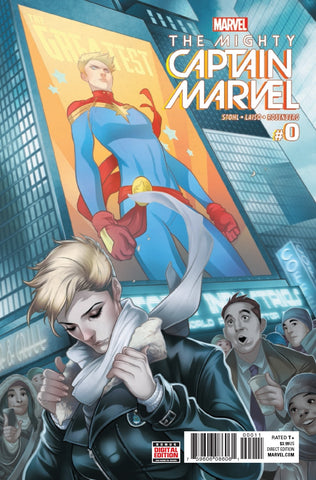 Mighty Captain Marvel 0 Marvel 2017 Carol Danvers