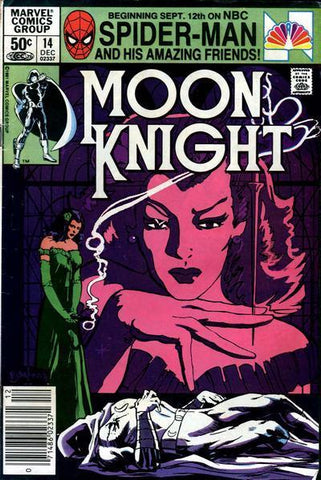 Moon Knight 14 Marvel 1981 Sienkiewicz