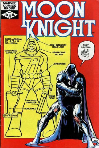 Moon Knight 19 Marvel 1982 Sienkiewicz