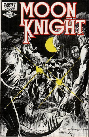 Moon Knight 21 Marvel 1982 Sienkiewicz