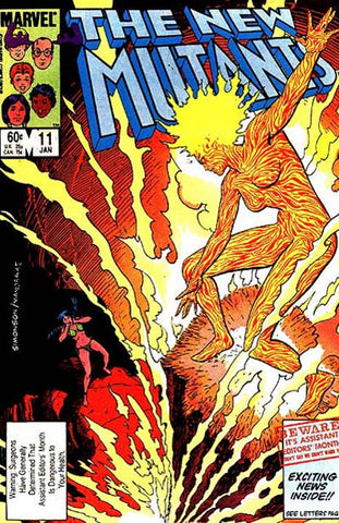 New Mutants 11 Marvel 1984