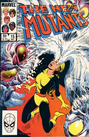 New Mutants 15 Marvel 1984