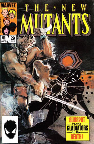 New Mutants 29 Marvel 1985 Sienkiewicz