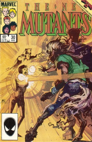 New Mutants 30 Marvel 1985 Sienkiewicz