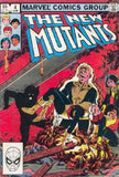 New Mutants 4 Marvel 1983