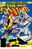 New Mutants 6 Marvel 1983