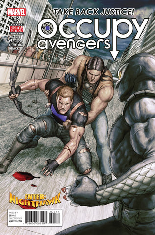 Occupy Avengers 3 Marvel Now 2016 Hawkeye Nighthawk