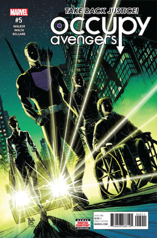 Occupy Avengers 5 Marvel Now 2016 Hawkeye