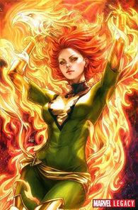 Phoenix Resurrection Return Of Jean Grey 1 Marvel 2017 NM Stanley Lau Artgerm Virgin 1:100 Variant