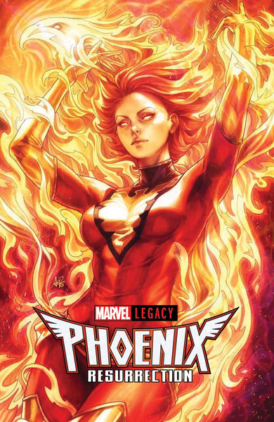 Phoenix Resurrection Return Of Jean Grey 1 Marvel 2017 NM Stanley Lau Artgerm Variant