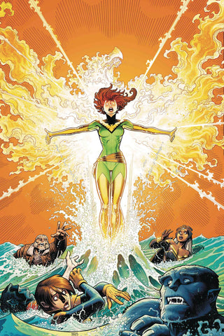 Phoenix Resurrection Return Of Jean Grey 1 Marvel 2017 NM Arthur Adams Uncanny X-Men 101 Homage 1:50 Variant