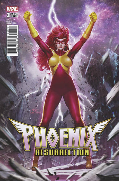 Phoenix Resurrection Return Of Jean Grey 3 Marvel 2017 NM In-Hyuk Lee Variant Classic X-Factor X-Men
