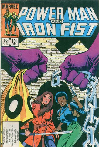 Power Man and Iron Fist 101 Marvel 1983