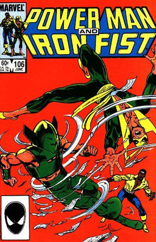 Power Man and Iron Fist 106 Marvel 1984