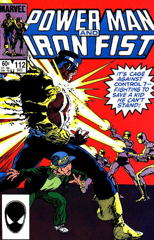 Power Man and Iron Fist 112 Marvel 1984