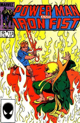 Power Man and Iron Fist 113 Marvel 1985