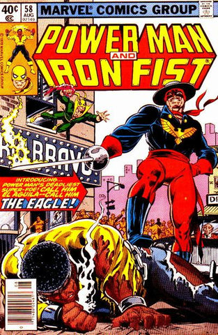 Power Man and Iron Fist 58 Marvel 1978