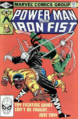 Power Man and Iron Fist 74 Marvel 1979