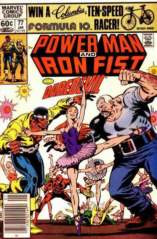Power Man and Iron Fist 77 Marvel 1982