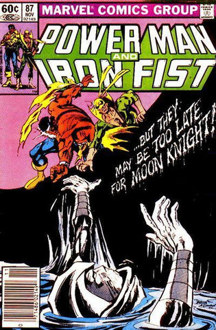 Power Man and Iron Fist 87 Marvel 1982