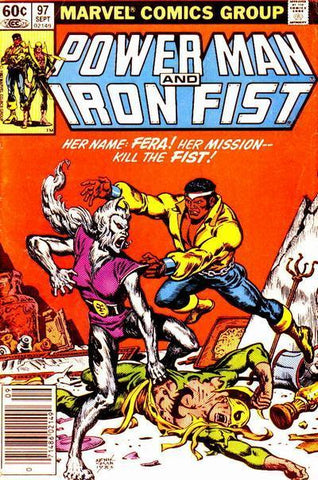 Power Man and Iron Fist 97 Marvel 1983