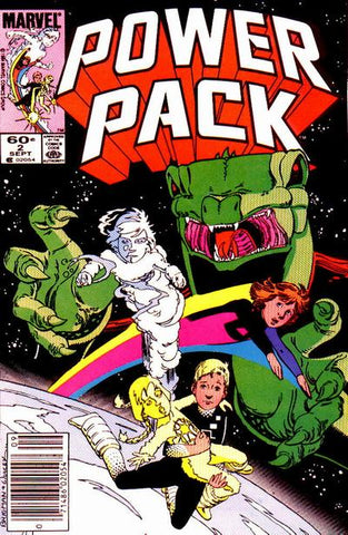 Power Pack 2 Marvel 1984 Snarks