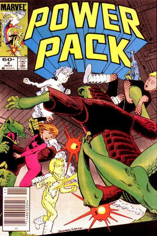 Power Pack 4 Marvel 1984 Snarks