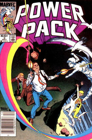 Power Pack 5 Marvel 1984 Carmody