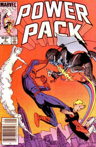 Power Pack 6 Marvel 1984 Spider-Man